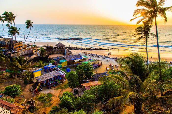 szállás Goa